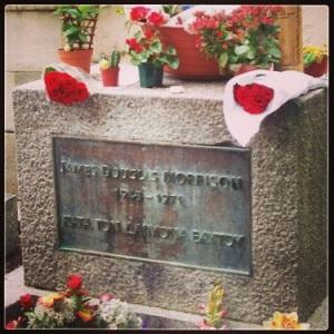 Jim Morrisons Grave