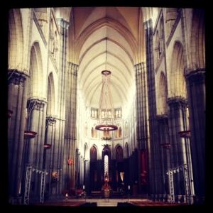 Inside Notre Dame