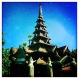 Bamboo Pagoda Inwa