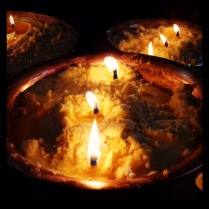 Yak Butter Candles