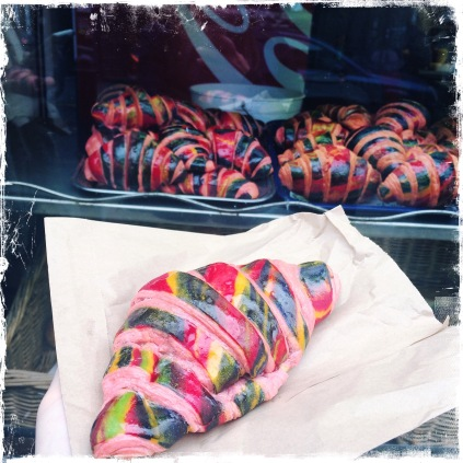 Rainbow Croissant