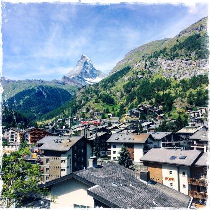 View from Hotel Welschen