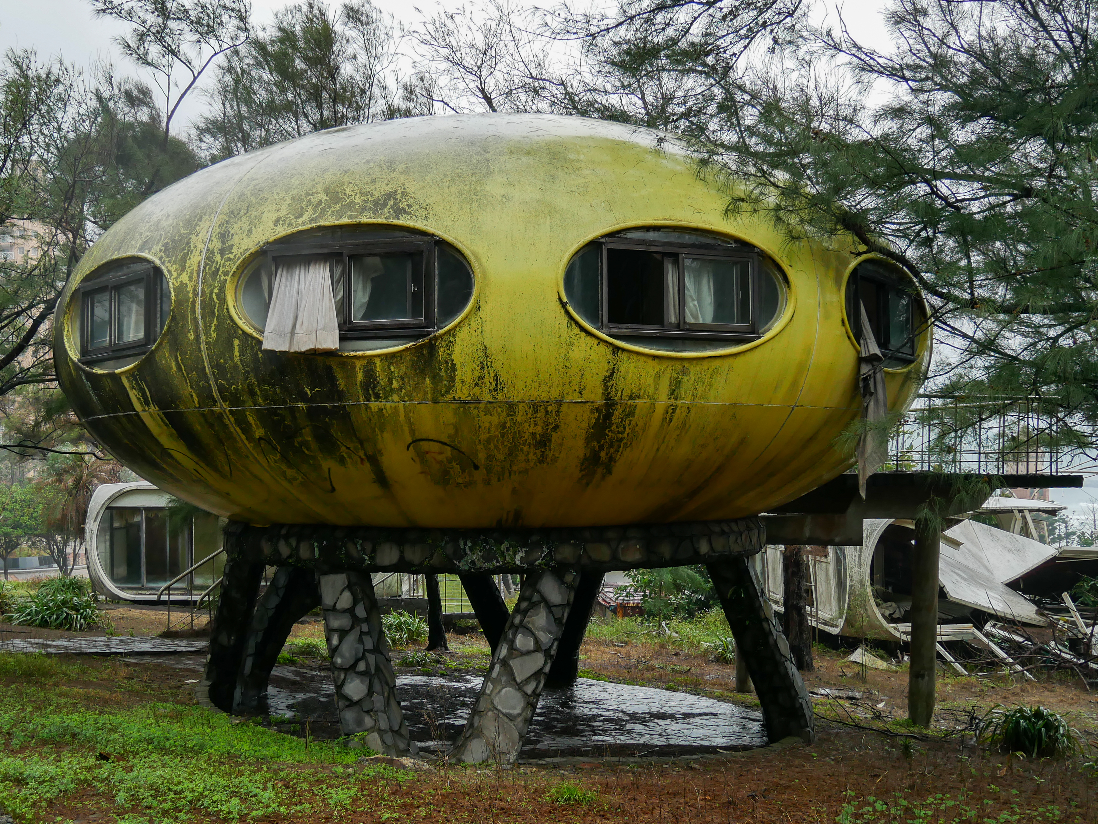 Abandoned UFO Resort, Taiwan