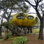 Abandoned UFO Resort Wanli Taiwan